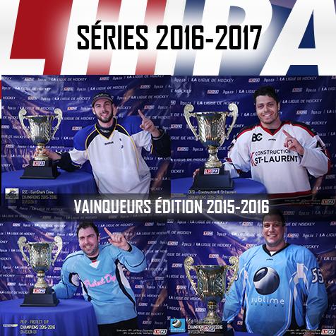 LHPA - Séries 2016-2017