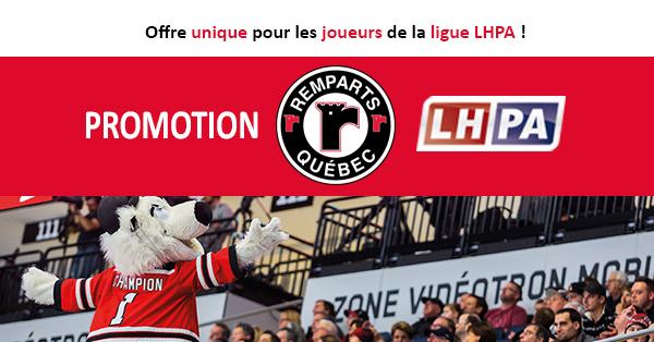 Promotion Billet de saison LHPA